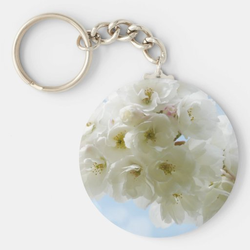 Spring Cherry Blossoms Keychain