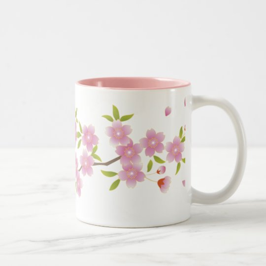 Spring Cherry Blossoms Mug