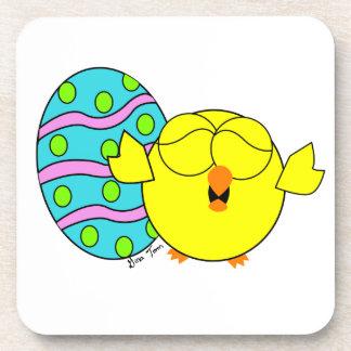 Spring Chick Drink Coaster