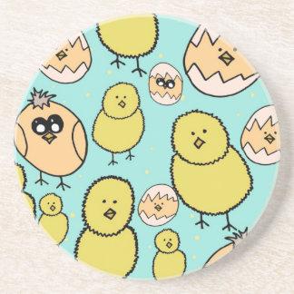spring chicken coasters