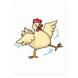Spring Chicken Postcard
