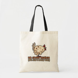 spring chicken tote tote bags