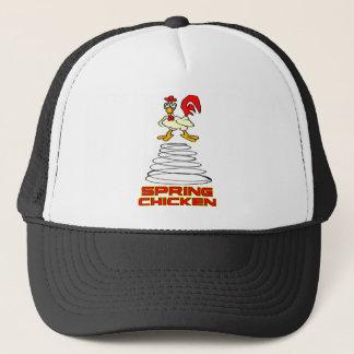 Spring Chicken Trucker Hat