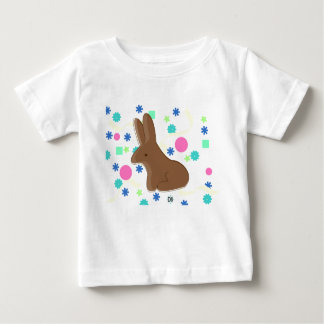 Spring chocolate bunny t shirts