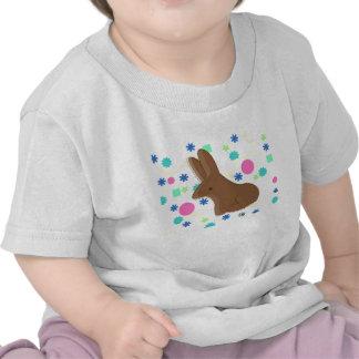 Spring chocolate bunny shirt