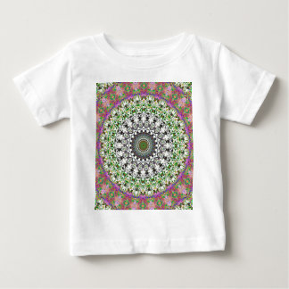 Spring Circle And Grwoth Kaleidoscope Baby T-Shirt