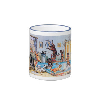 Spring Cleaning Ringer Mug