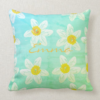 Spring Collection Daffodils Pillow