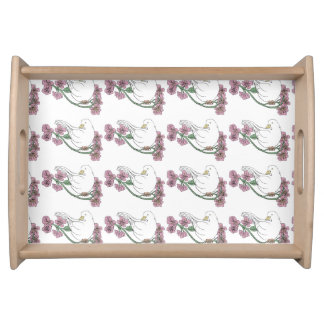 Spring Collection, Dove Tray