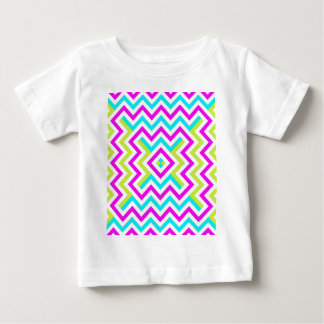 Spring color Chevron pattern Tshirts