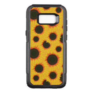 Spring colorful pattern sunflower OtterBox commuter samsung galaxy s8+ case