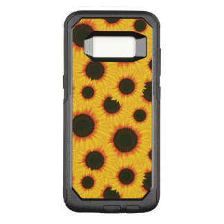 Spring colorful pattern sunflower OtterBox commuter samsung galaxy s8 case