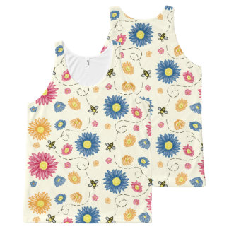 Spring Colors All-Over Print Tank Top