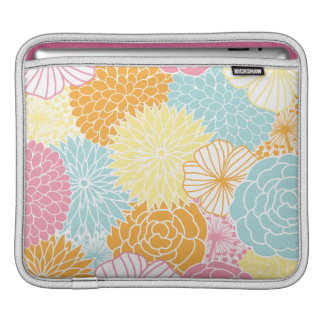 Spring Colors Mod Floral iPad Sleeve