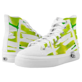 Spring Colors Printed Shoes