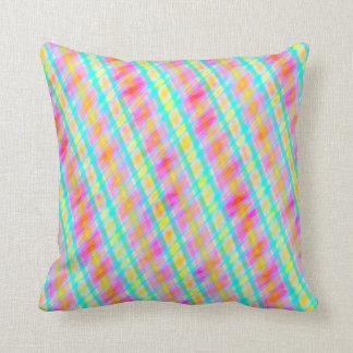 Spring Colours MultiThread 1 Design Cushion