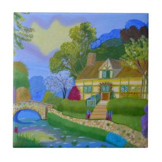 Spring Cottage Tile