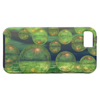 Spring Creation – Green & Gold Renewal iPhone 5 Cover