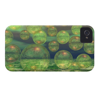 Spring Creation – Green & Gold Renewal iPhone 4 Cases
