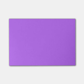 Spring Crocus Purple Violet 2015 Color Trend Post-it Notes