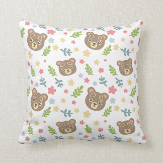 Spring Cute Bear Cushion