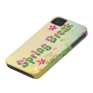 Spring cyclamen iPhone 4 case