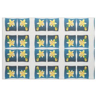 spring daffodil fabric