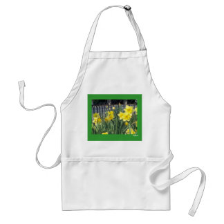 Spring Daffodils Adult Apron