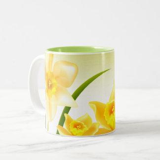 Spring Daffodils Persian New Year Gift Mugs