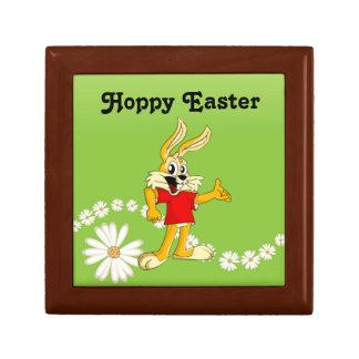 Spring Daisy Hoppy Easter Bunny Gift Box