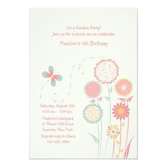 Spring Day Invitation