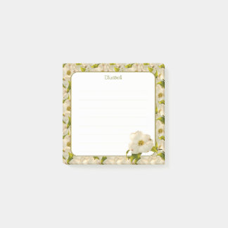 Spring Dogwood Blossom Floral Photography Post-it Notes