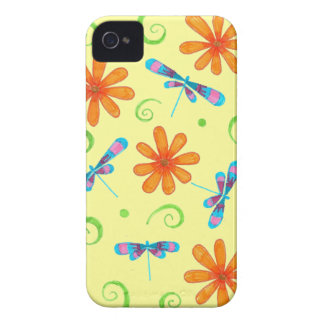Spring Dragonflies iPhone 4 Case