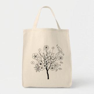 Spring Dreams Grocery Tote Bag