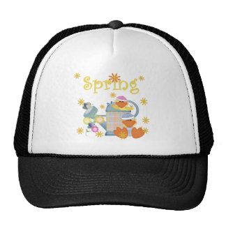 Spring Duckies T-shirts and Gifts Mesh Hats