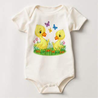 Spring Ducks t-shirt for babies