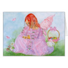 Spring Easter Fairy Bunny Card
