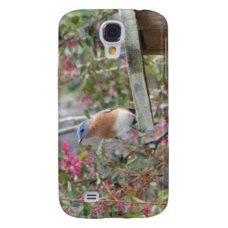 Spring Eastern Bluebirds Galaxy S4 Case