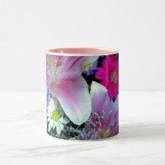 Spring Fancy 2 Two-Tone Coffee Mug