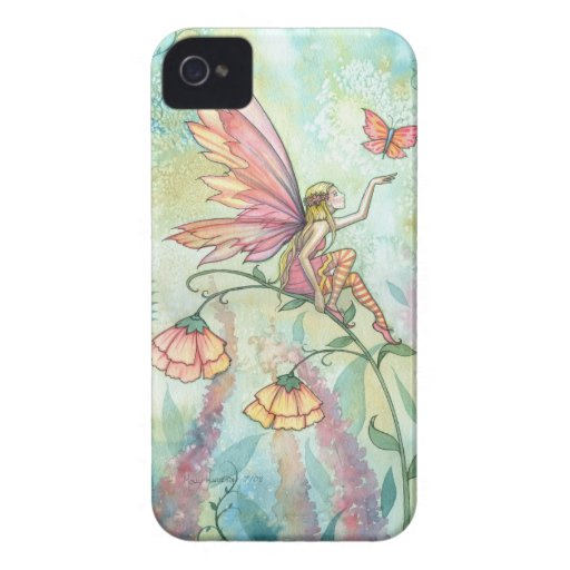 Spring Fantasy Fairy Butterfly Art Case-Mate iPhone 4 Cases