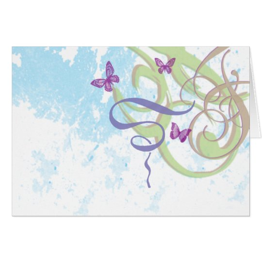 Spring Fantasy - Greeting Note Card