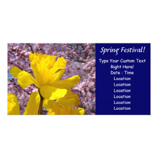 Spring Festival! Invitation Event Announcements Photo Card