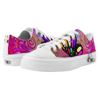 Spring fever designer shoe by Zayha Printed Shoes
