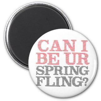 Spring Fling Refrigerator Magnet