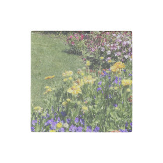 Spring Fling Stone Magnet