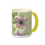 Spring Floral Coffee Mug