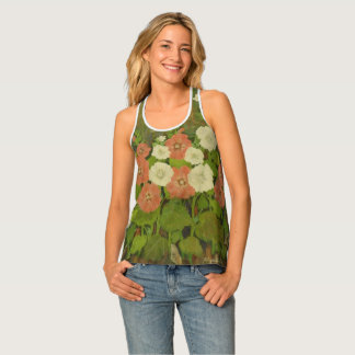 Spring Floral Stylus Tank Top