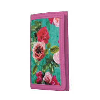 Spring Florals Trifold Wallets