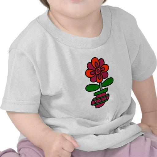 Spring Flower in Vase Shirt