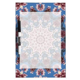Spring, Flower-Mandala (Blumen-Mandala) Dry-Erase Whiteboard